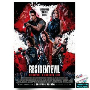 Resident Evil: Welcome to Raccoon City International Style Poster A5 A4 A3 A2 A1