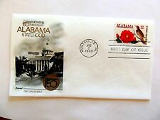 Aug. 2nd, 1969 Commemorating 150th Anniversary Alabama Statehood 1st Day Issue