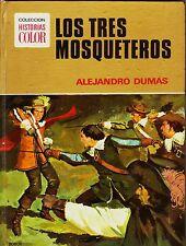 HISTORIAS COLOR: CLÁSICOS JUVENILES nº  5 LOS 3 MOSQUETEROS Bruguera 2ª 1975