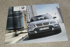 BMW X5 Brochure 2006 - 3.0si 4.8i 3.0d SE - E70 Platform