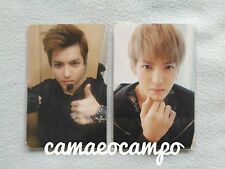 EXO-M KRIS Wu Yi Fan MAMA Photo Card version A & B Set (Korean Press)
