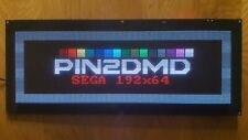 Pin2DMD Evo 192x64 Color Display für SEGA Pinball