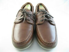 "Allen Edmonds ""EASTPORT"" Boat Shoes 11.5 E Brown   (1061)"