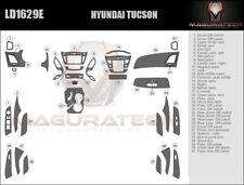 Fits Hyundai Tucson 2010-2013 With Auto Trans Large Premium Wood Dash Trim Kit