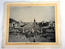 Vintage 1895 Jackson Famous Pictures Of Chicago World's Fair Set of 7 Pics-- 7