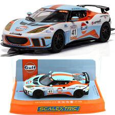 Scalextric C4183 Lotus Evora Gt4 Gulf Edition Slot Car 1/32 Dpr