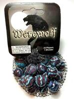 Bag of 25 Werewolf Glass Mega Marbles 24 Players 16mm - 1 Shooter 25mm RETIRED