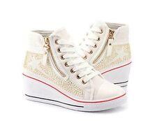 High-Top Sneakers mit Reißverschluss für Damen