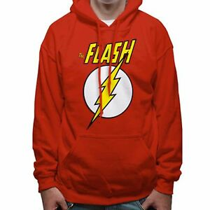 The Flash - Logo & Symbol T-Shirt SWEATSHIRT PULLOVER Hooded Hoody Kapuze