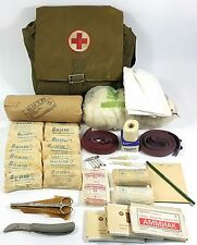MILITARY COMPLETE FIRST AID KIT RUSSIAN SOVIET ARMY WITH SHOULDER BAG