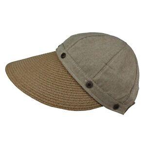 Round Cap Visor Wide Brim Golf Beach Spring Summer Sun UV Hat Adjustable Women