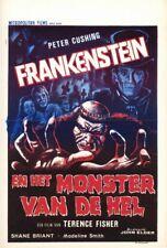 Affiche -  FRANKENSTEIN ET LE MONSTRE DE L'ENFER - 36x56cm