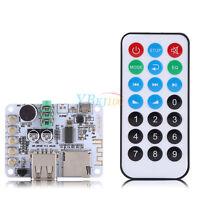 DC 5V Bluetooth USB Audio Receiver Board Amplifier Module w/ Remote Control eml