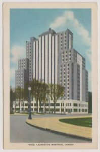 Canada postcard - Hotel Laurentien, Montreal - P/U (A124)