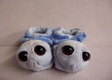 """RUSS PEEPERS 4"""" BABY BOOTIES IN BLUE SOFT AND COZY GREAT SHOWER GIFT INFANT"""