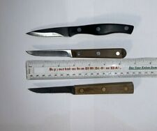Chicago Cutlery (3) Piece Kitchen Paring Utility Knife Knives Lot