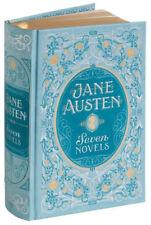 JANE AUSTEN 7 NOVELS: Mansfield Park, Emma, Northanger Illustrated Leatherbound