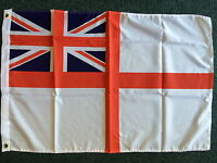 White Ensign Flag 3x2 Royal Navy Union Jack GB British Sports Teams Boat Ship bn