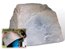 DekoRRa Fake Rock 104RB Riverbed - Cover Well Tanks-Electric Boxes- Sizing Tip