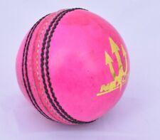 6 x Nexuke Force Pink Cricket Balls 'A+' Grade leather - 45 Overs Ball Guaranty