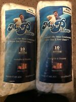 """My Pillow As seen on TV PREMIUM KING size LOT OF 2 bed pillow MyPillow 2"""" gusset"""