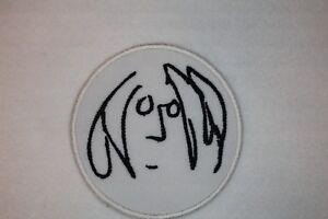 JOHN LENNON - SELF PORTRAIT- BEATLES - IRON ON/SEW ON PATCH -FREE POST