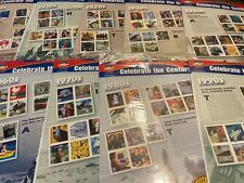 Celebrate The Century StampsMIP SEALED COMPLETE COLLECT $48.90 Face Value RUTH+