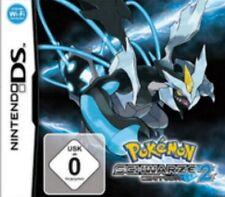 Nintendo DS 3DS Pokemon Schwarze Edition 2 Deutsch * Sehr guter Zustand