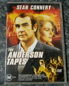 THE ANDERSON TAPES (DVD) SEAN CONNERY