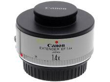 Canon EF moltiplicatore di focale Extender 1,4x per EOS. Splendide condizioni.