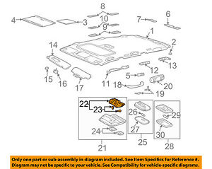 81260-60140-A0 Toyota Lamp assy, map 8126060140A0