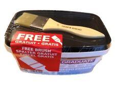 Daler Rowney Graduate White Gesso Primer - 1 Litre Tub + Gesso Brush