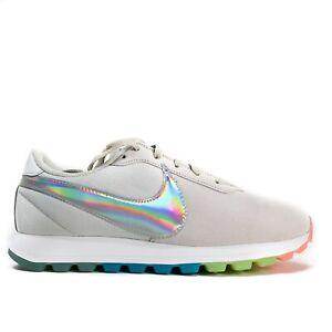 Nike Pre-Love O.X. Pride Rainbow Holographic Sneakers AO3166 100 Womens 9.5