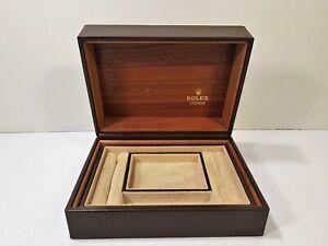 Watch Box Set Jewel Case Box Watch Jewelry Acronym Rolex