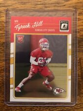TYREEK HILL 2016 Donruss Optic Rookie Card #117 Kansas City Chiefs RC