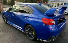 Subaru WRX STi 2015 onwards Side skirt Extensions & Rear Lips. V3. HT Autos UK.