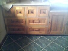 KITCHEN CUPBOARDS AND DRAWERS: BALTIC PINE