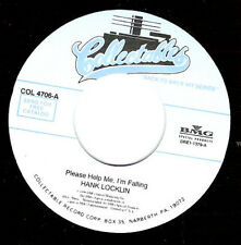 HANK LOCKLIN - Please Help Me I'M Falling  7""
