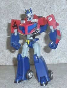Transformers Animated OPTIMUS PRIME Complete Battle Begins Deluxe