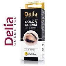 PROFESSIONAL DELIA HENNA COLOR CREAM EYEBROW TINT KIT BLACK