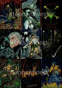 1995 Krome Evil Ernie II Chromium Glow-in-the-Dark Card You Pick Finish Your Set
