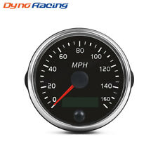 Universal 85mm Speedometer 0-160Mph Speed Gauge Meter For 12V/24V Car Truck