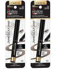 (2)Loreal Infallible Smokissime Never Fail Powder Eyeliner Pen, 703 Taupe Smoke!