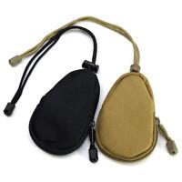 Mens Outdoor Nylon Mini EDC Carrying Bag Pouch Portable Coins Key Purse Wallet