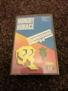 Hungry Horace - Commodore 64 Melbourne House 1983 Tested & Working