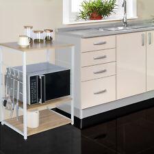 Standregal Mikrowellenhalter Bäcker Regal Küchenregal Haushaltsregal RGB9309hei