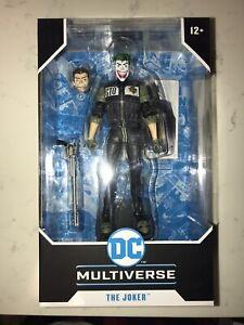 DC Multiverse Batman: White Knight The Joker Action Figure McFarlane Toys New
