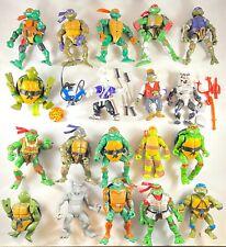 Massive Lot Of Teenage Mutant Ninja Turtles 70+Figures,Vehicles,380+ Accessories