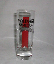 Shot Glass Molinari Sambuca Extra Liqueur Bar Shooter 2 oz Weighted Bottom