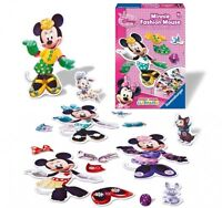 Disney Minnie Mouse 'Fashion Mouse' Outfit Board Game Puzzle Brand New Gift